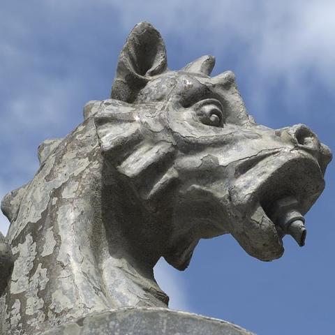 La grande fontaine de La Chaux-De-Fonds
