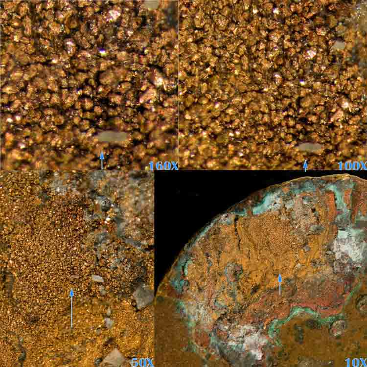 Selective corrosion