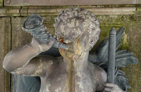 La Chaud-De-Fonds, la grande fontaine, Durenne