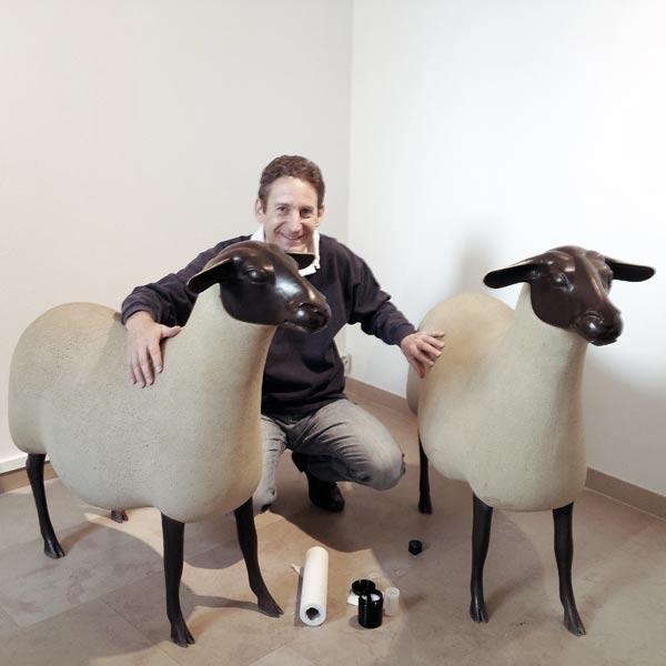 2 moutons de Lalanne